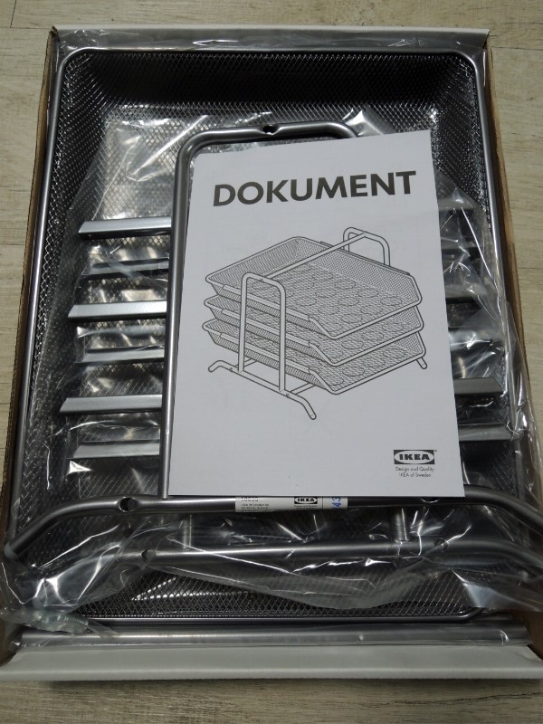Ikea dokument letter tray