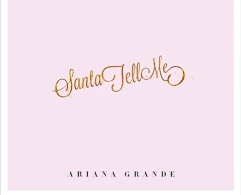 Ariana Grande - Santa Tell Me [MP3 다운]