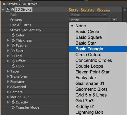 AE Tutorial | 3D Stroke | 튜토리얼 : 네이버 블로그