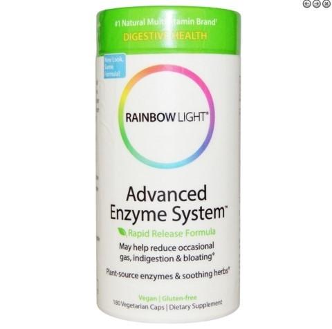 rainbow light advanced enzyme system rapid release formula. Black Bedroom Furniture Sets. Home Design Ideas