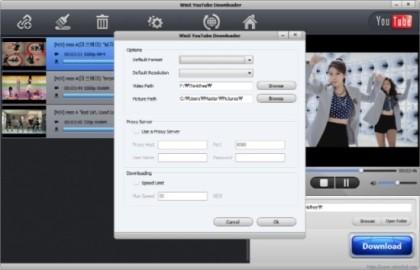 WebM, FLV, MP4 등의 형식으로 유튜브 동영상의 빠른 다운로드 유틸-WinX