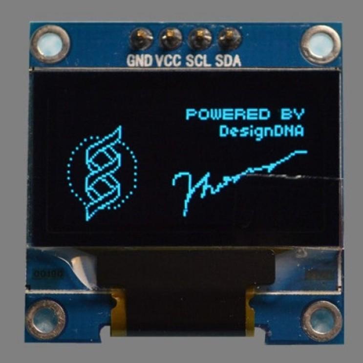 아두이노] 7핀 OLED 사용하기 : 네이버 블로그