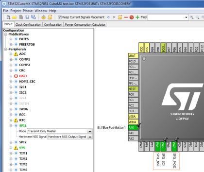 STM32 MCU의 SPI 설정 (STM32CubeMX) : 네이버 블로그