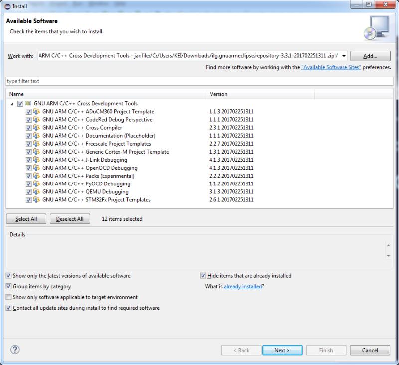 Eclipse] GCC ARM develop environment + OpenOCD for Windows : 네이버