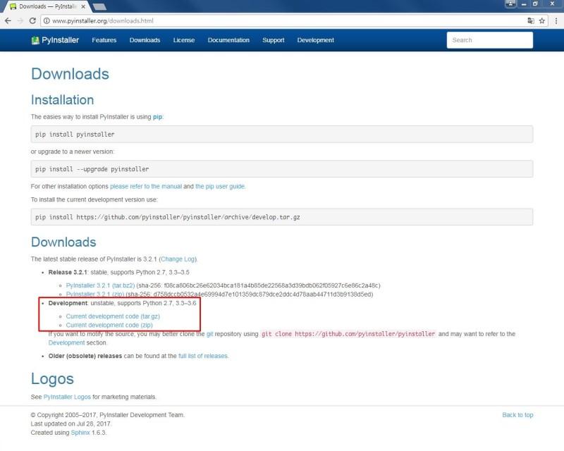 Python」 PyInstaller :  py →  exe 변환 : 네이버 블로그
