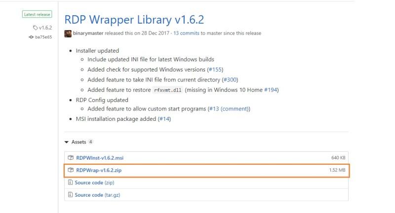 Windows 10 Home Edition 원격 데스크탑 Host 연결 설정/방법(RDP