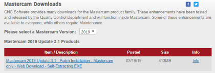 Mastercam 2019 Update 3 1 - Patch : 네이버 블로그