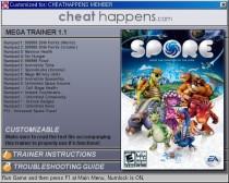 Spore trainer